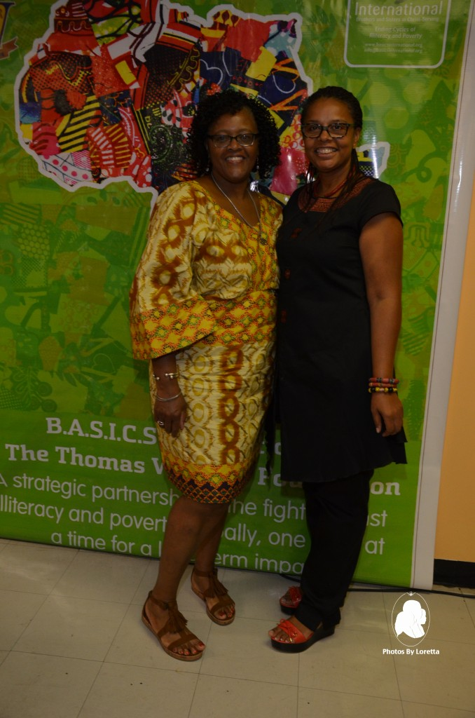 BASICS International and The Thomas White Jr Foundation Two Ladies