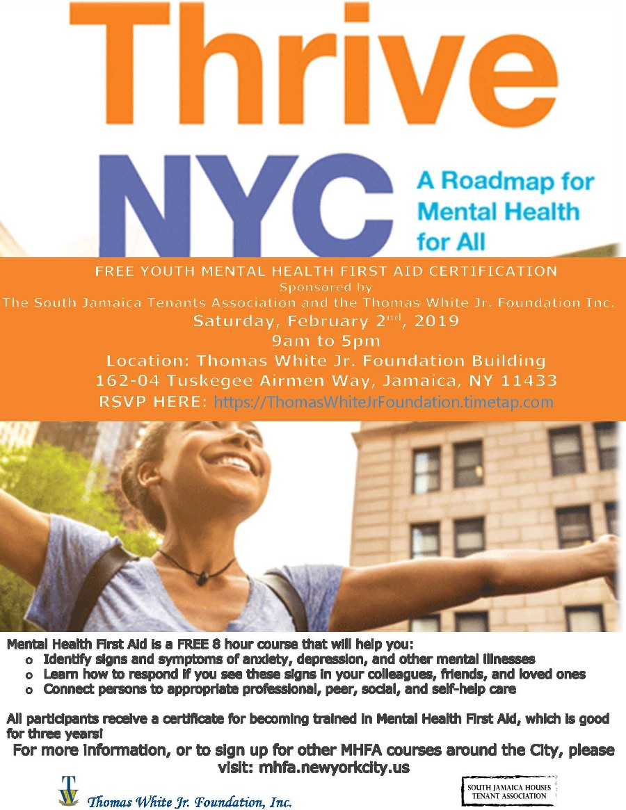 Thrive NYC Free A Roadmap for Mental Health